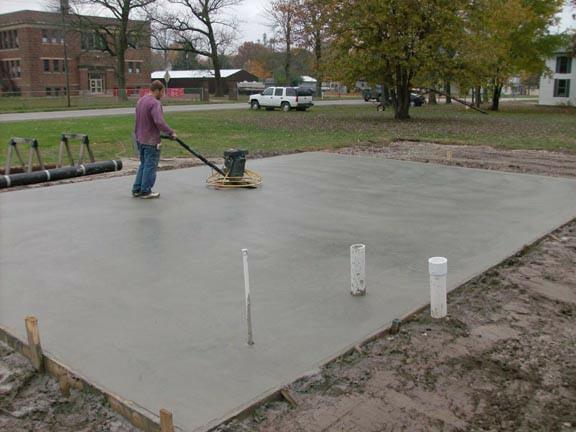 concrete flatwork additions tulsa ok concrete foundation pour professional contractor