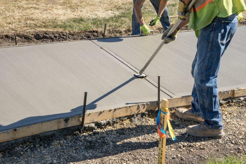 concrete sidewalk installation sidewalk builder tulsa